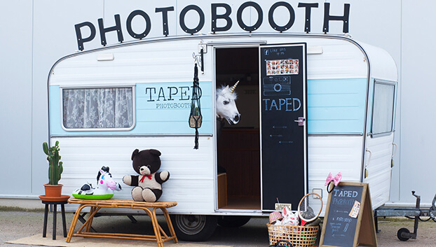 Taped Photobooth