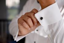 Bruidegom en mode
