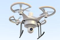 Trouwfilm met een drone