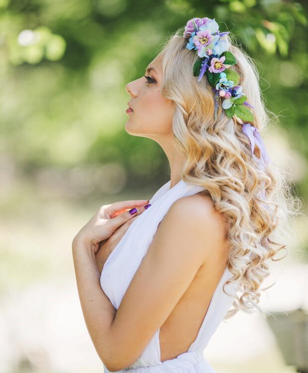 20 bruidskapsels voor lang haar