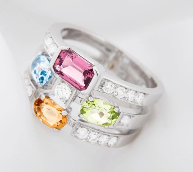 symboliek edelstenen trouwring