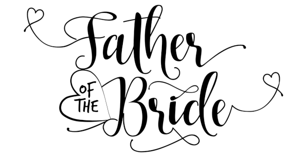cadeau vader bruid