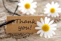 Leuk: schrijf een persoonlijke handgeschreven bedankkaart