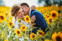 Van bruidsbloemen word je gelukkig
