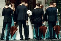 Redenen waarom je regen wilt op je bruiloft