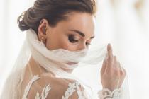 Inspiratie voor bruidskapsels met sluier