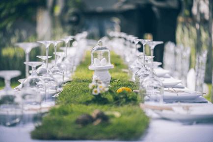 Laat je bruiloft extra chique lijken trouwen