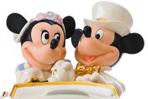 Trouwen in Disneyland Paris,  voor het Kasteel van Doornroosje