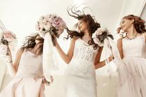 Grootse entree maken als bruid