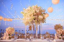 Een bruiloft &  veel Lampionnen