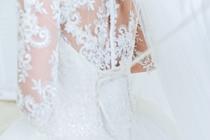 Drie trouwjurken voor de trouwdag