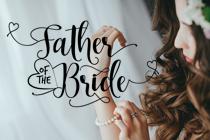 Welk cadeau geeft de vader van de bruid aan z'n dochter?